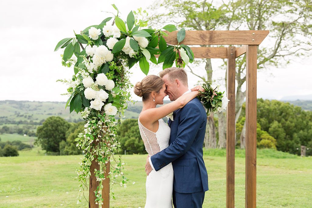The Orchard Estate: Chloe Jimmy Byron Bay Wedding