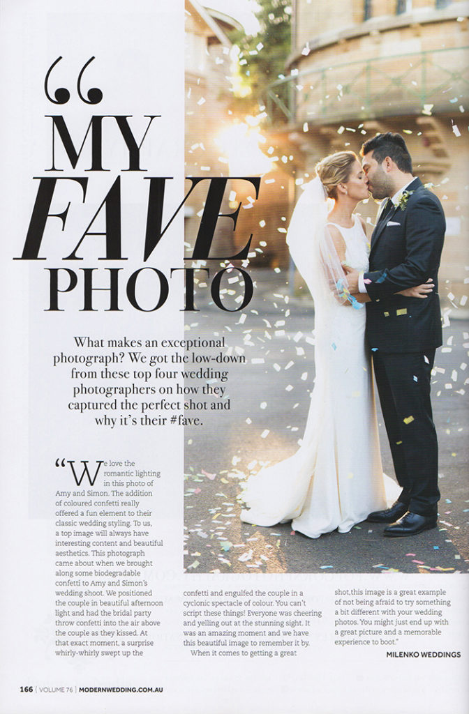 Amy Simon Modern Wedding Magazine